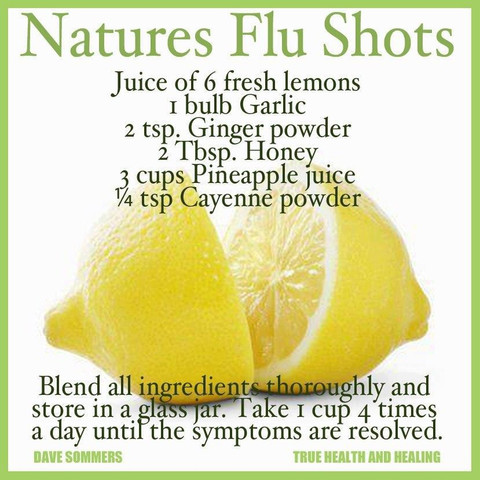 Feed Your Beauty: Nature's Flu Shots