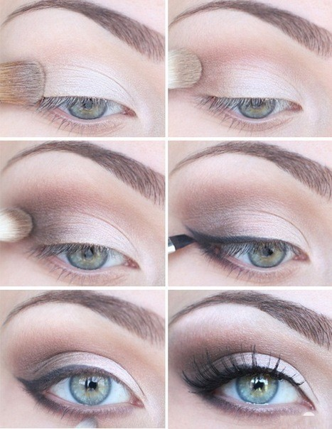 winged eye makeup simple tutorial