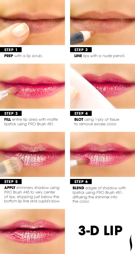 3d lipstick diy guide