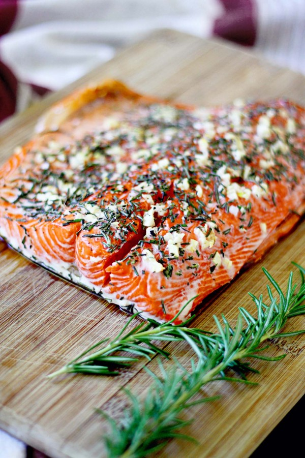 rosemary garlic salmon recipe