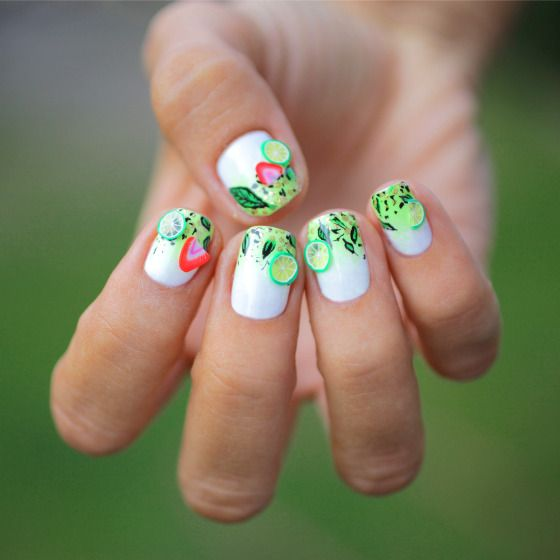 fruit nail art 3