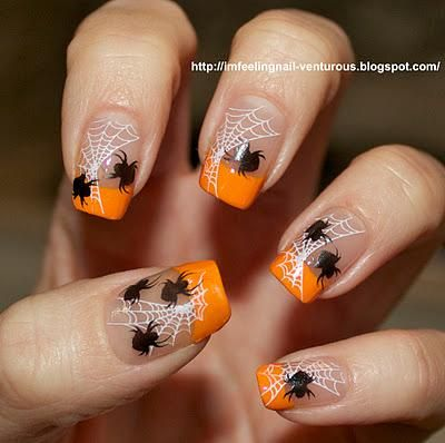Things We Love: Halloween-Inspired Nail Art - The Nest