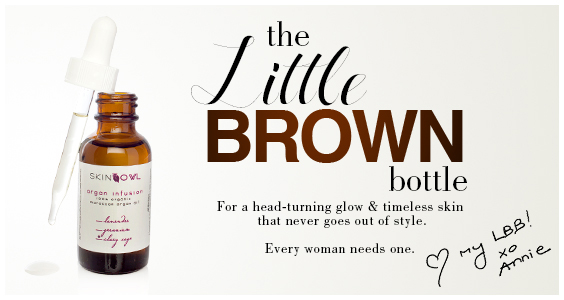 little brown bottle skinowl argan infusion facial oils