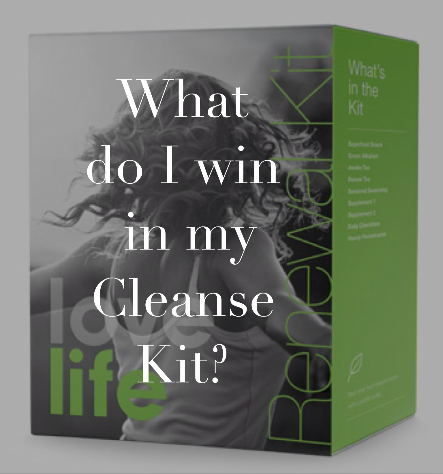 lovelife cleanse kit question