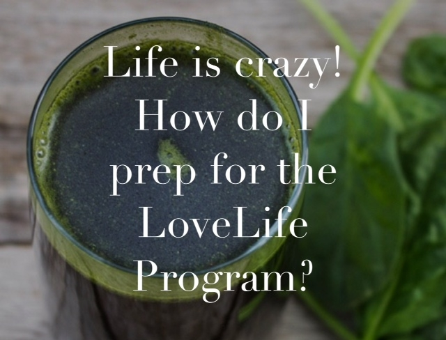 Promos: LoveLife Giveaway – Annie's Experience/Prepping, Cooking, Juicing