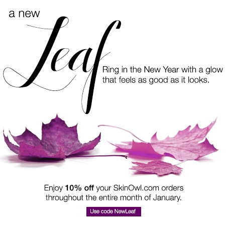 Promos: 10% off January SkinOw.Com Orders