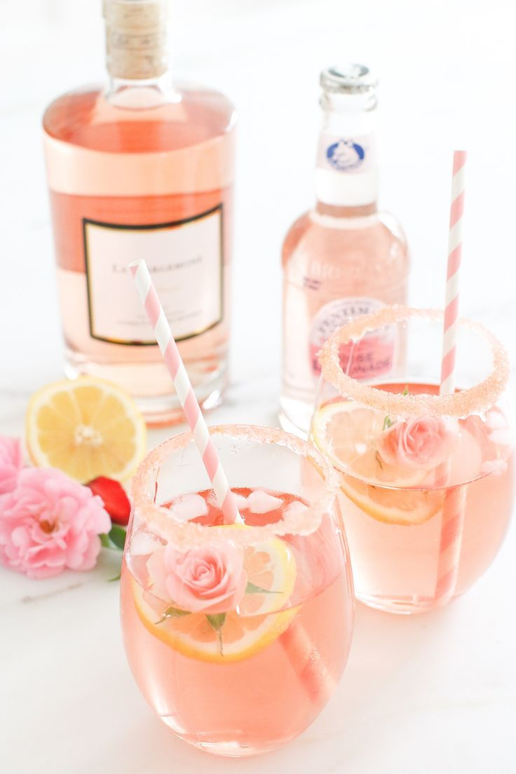 Feed Your Beauty: Rose Gold Summer Sippers