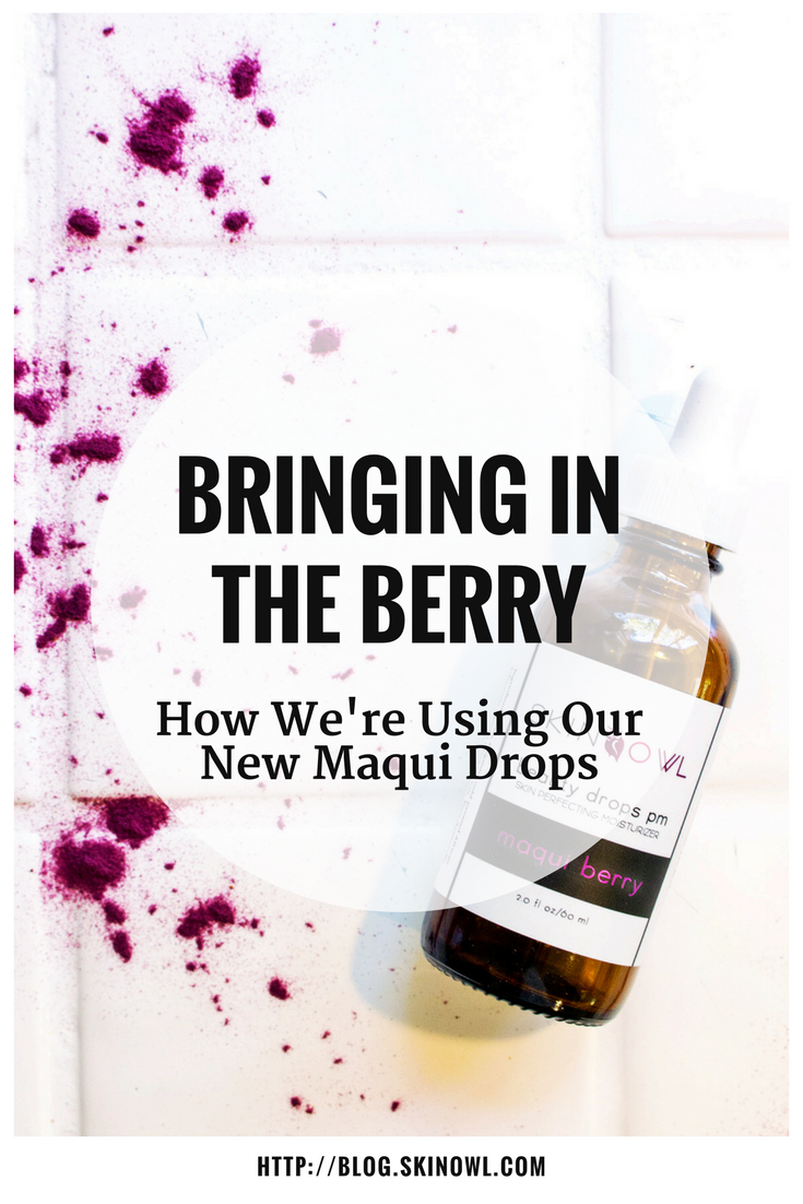 Bringing in the Berry: How We're Using Our New Maqui Drops