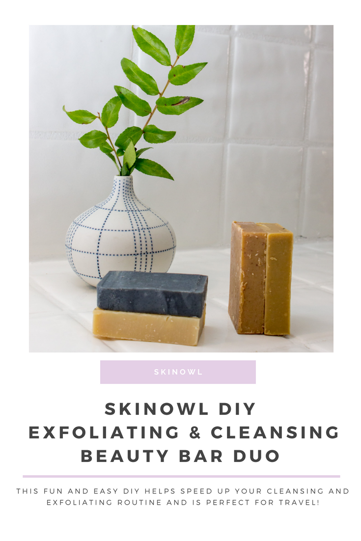 DIY SkinOwl: Exfoliating & Cleansing Beauty Bar Duo || SkinOwl.com