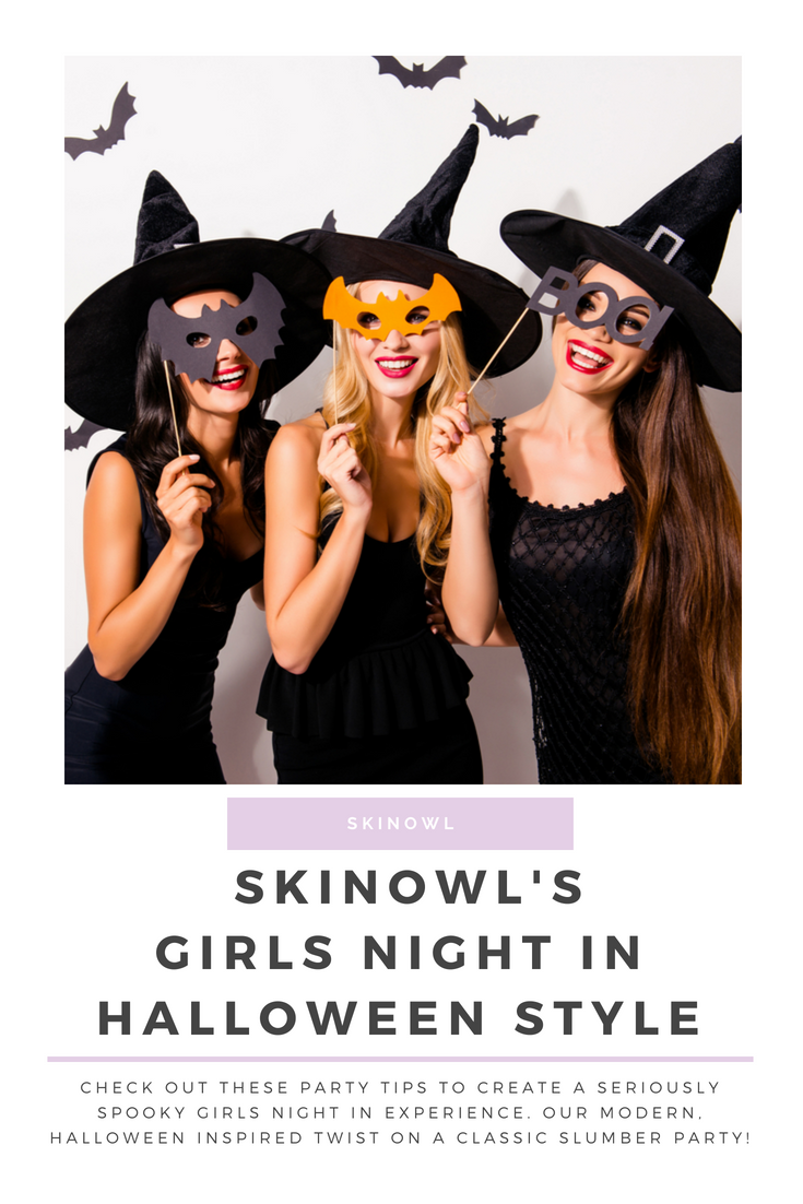 Girls Night In Halloween Style | SkinOwl.com