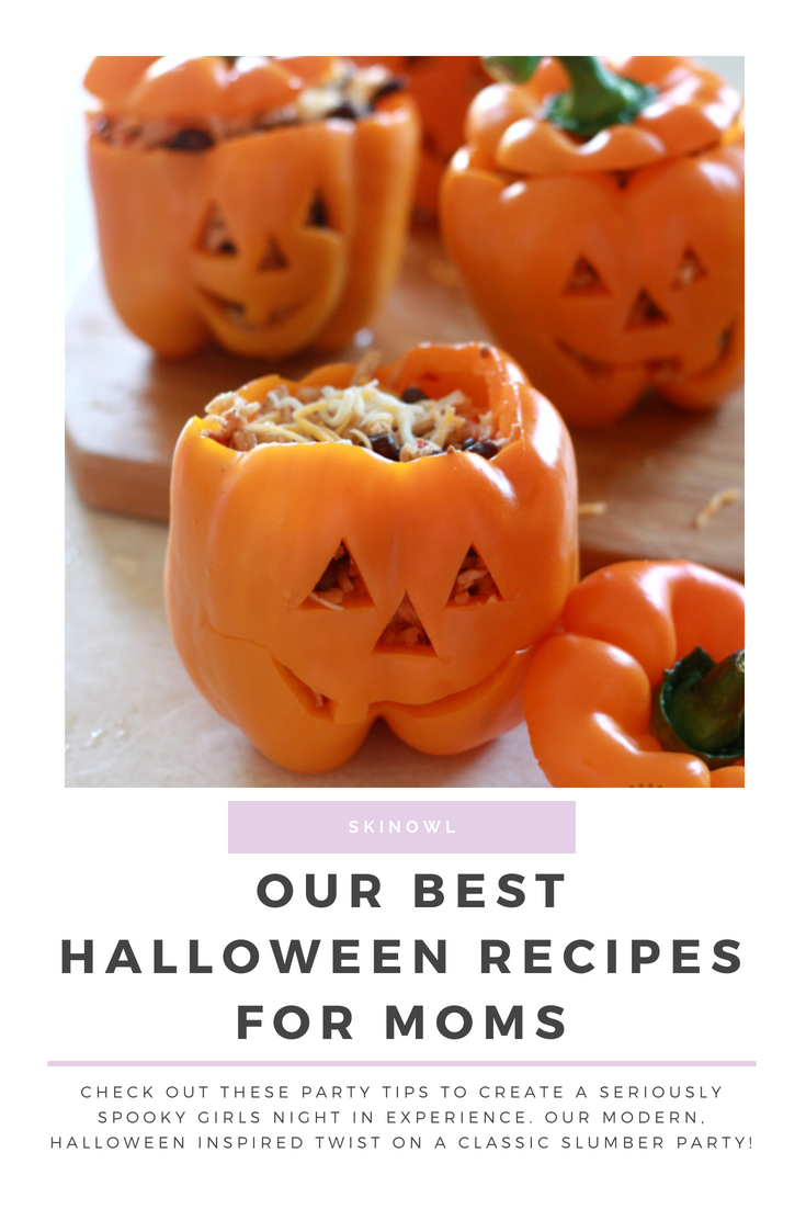 Our Best Halloween Recipes for Moms || SkinOwl.com