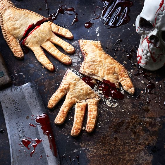Severed Hand Pies | Girls Night In Halloween Style | SkinOwl