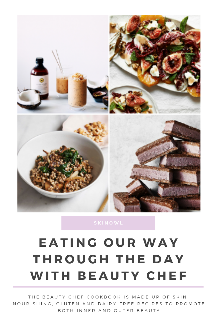 Eating Our Way Through the Day with Beauty Chef | SkinOwl.com