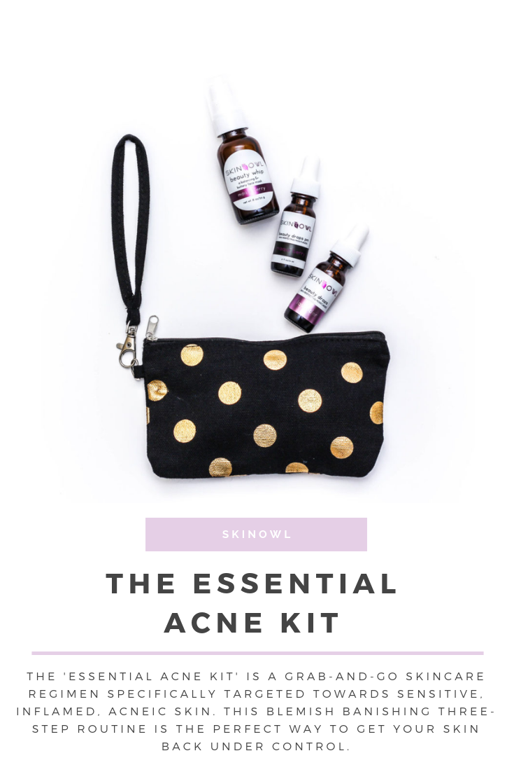 SkinOwl | The Essential Acne Kit || SkinOwl.com