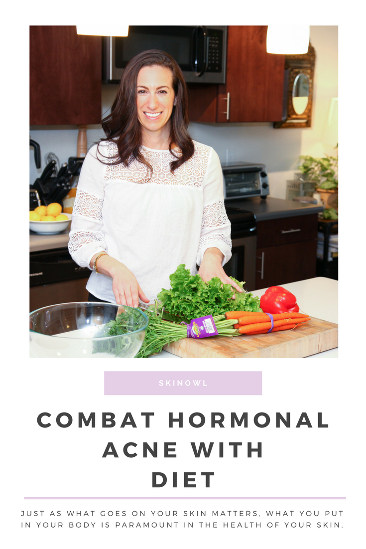 Combat Hormonal Acne with Diet | SkinOwl.com