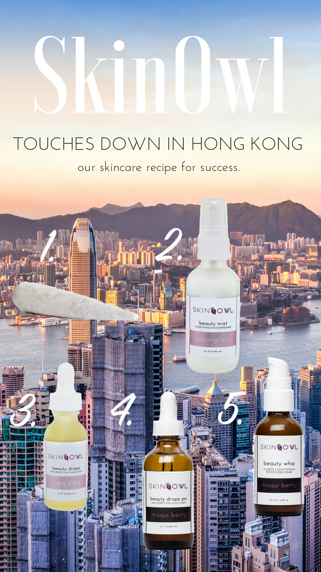 SkinOwl Touches Down in Hong Kong