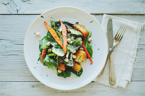 Feed Your Beauty: Glazed Beet and Carrot Salad
