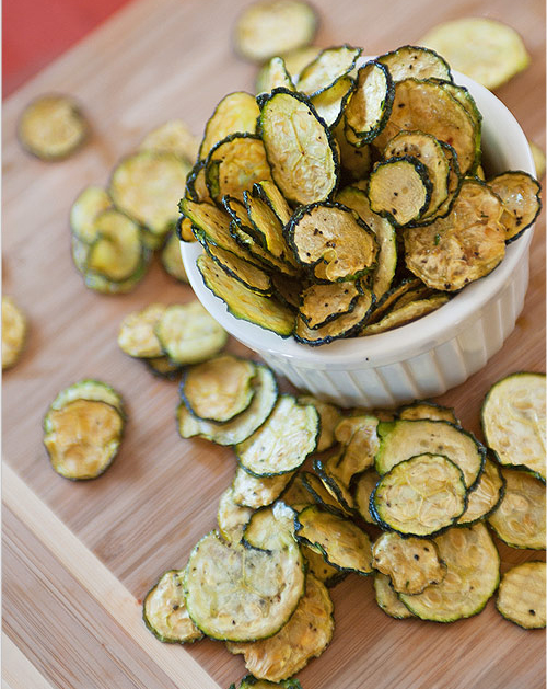 Feed Your Beauty: Salt and Pepper Zucchini Chips