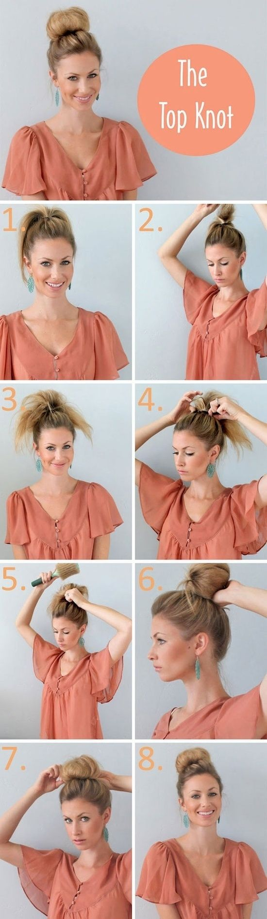 the top knot tutorial guide