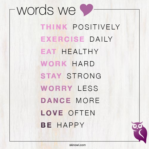 Wise Words: Think Positively…