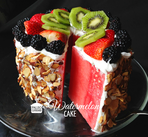 Feed Your Beauty: Watermelon Cake