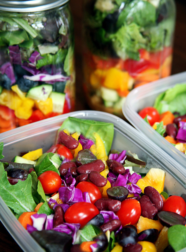 Feed Your Beauty: Salad Prep for a Week