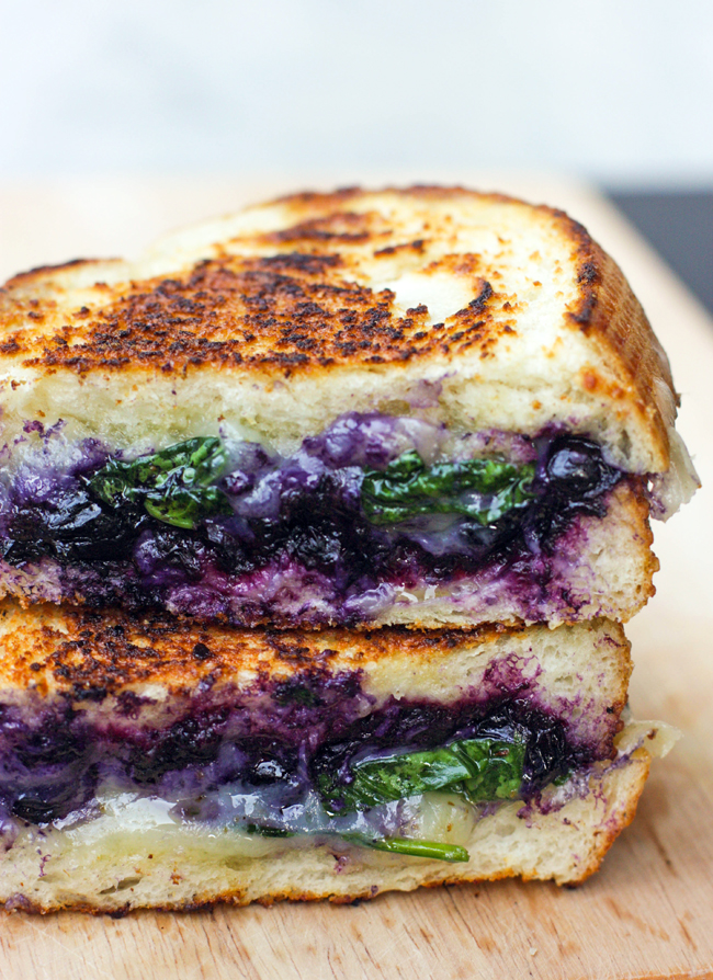 Feed Your Beauty: Balsamic Blueberry Grilled Cheese
