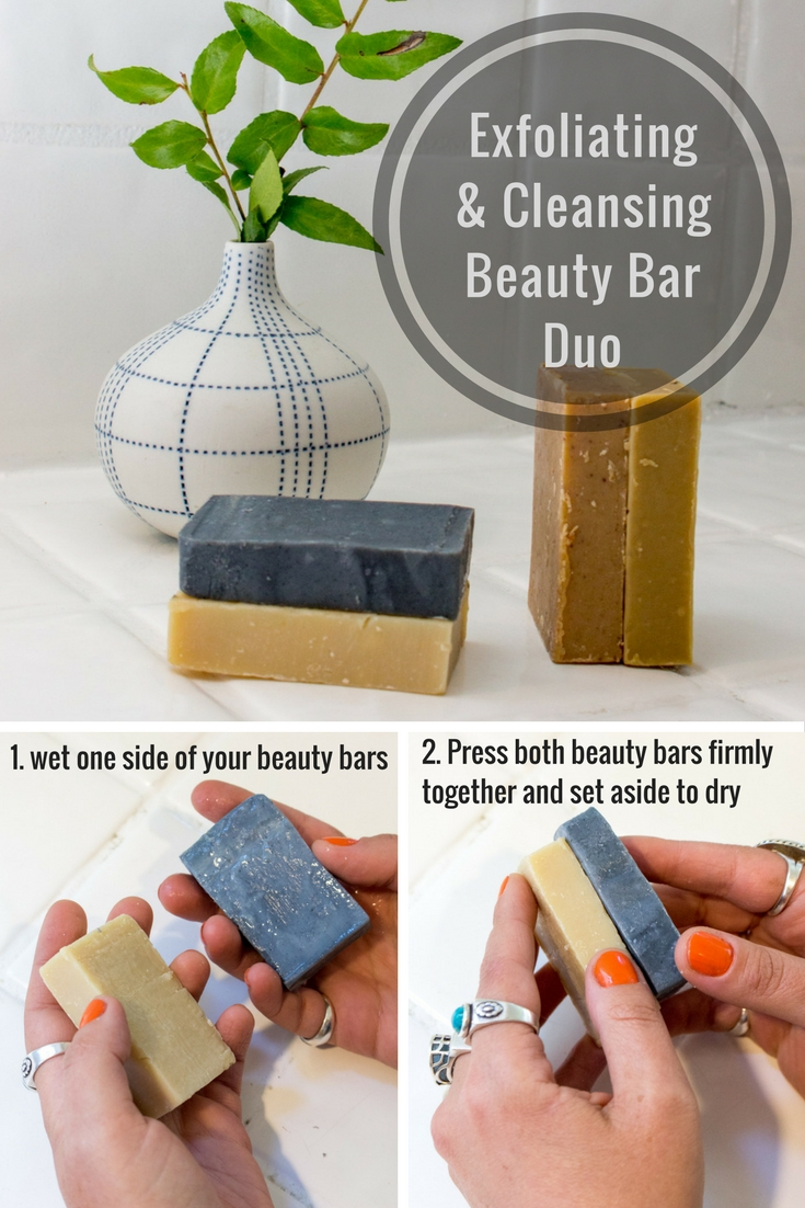 SkinOwl DIY: Exfoliating & Cleansing Beauty Bar Duo